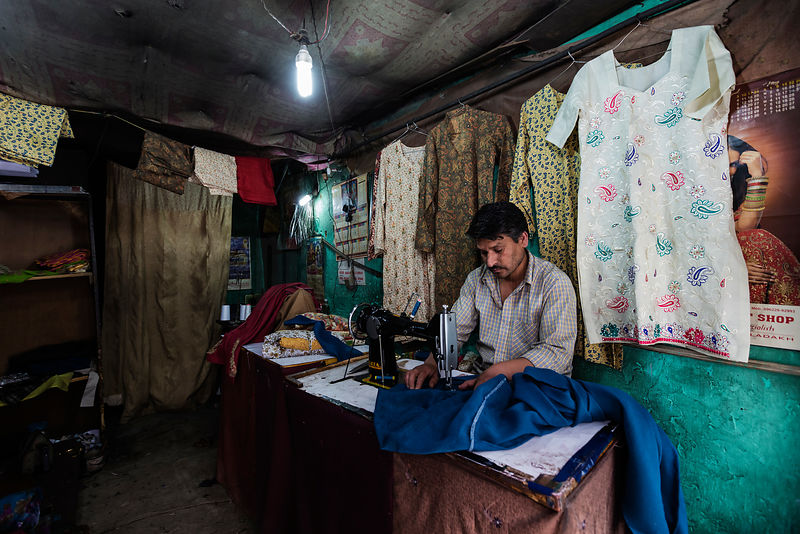 Portrait of a Tailor in his Shop