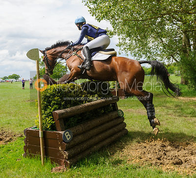 Bella Innes Ker and CAROLYN - Rockingham Castle International Horse Trials 2016