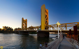 Sacramento River & Tower Bridge #8