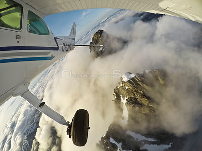 Exploring Coastal Mountains In an Airplane