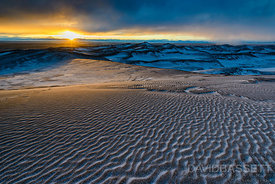 Winter Sunset | Great Sand Dunes National Park, CO
