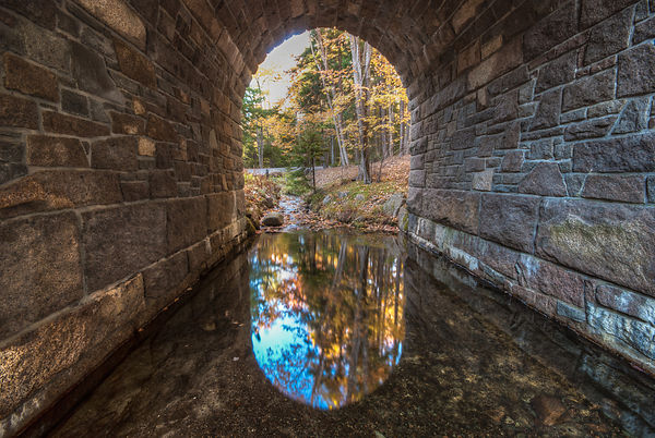 Carriage Bridge Tunnel, Acadia National Park, Maine