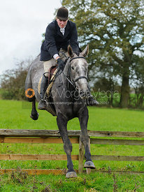William Bissell - The Cottesmore Hunt at Tilton on the Hill, 9-11-13