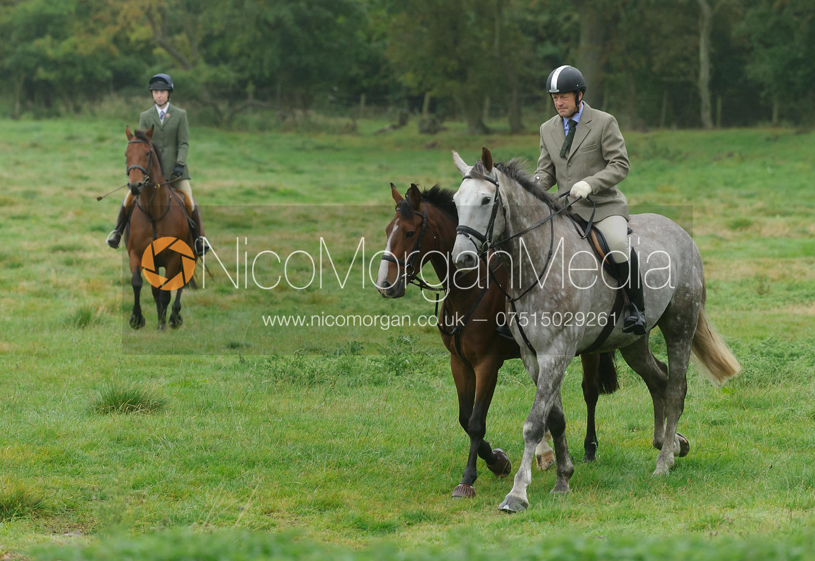The Cottesmore Hunt at the kennels, 14-Sept-13.