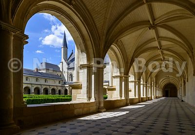 FRANCE, MAINE ET LOIRE, ABBAYE DE FONTEVRAUD // France, Maine et Loire, Fontevraud Abbaye, Loire Valley, Abbey Of Fontevraud,...