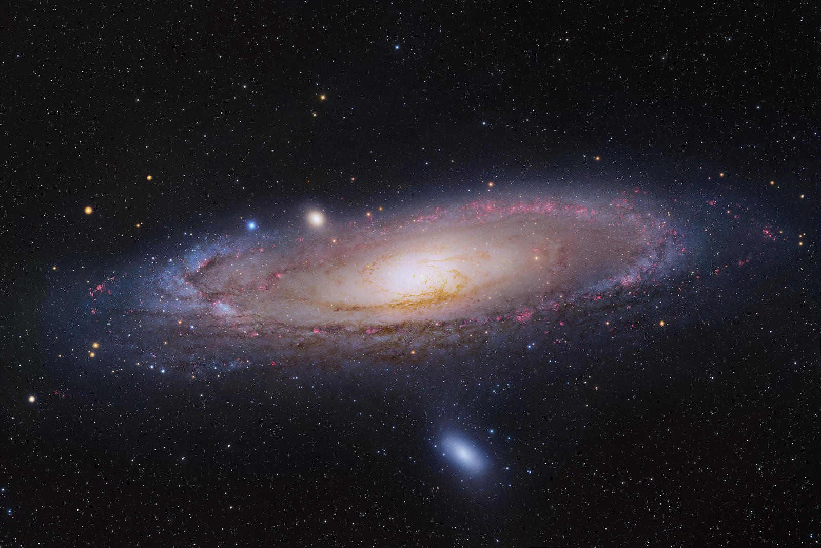 Galaxie : M31, The Andromeda Galaxy