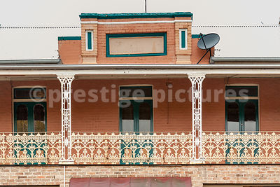 Architectural Detail on Balcony in Lithgow, New South Wales
