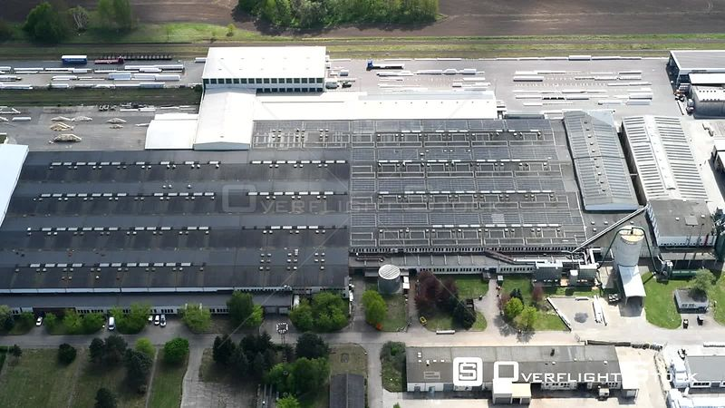 Factory premises of the wood works Bullinger in Markisch Linden in the federal state Brandenburg, Germany