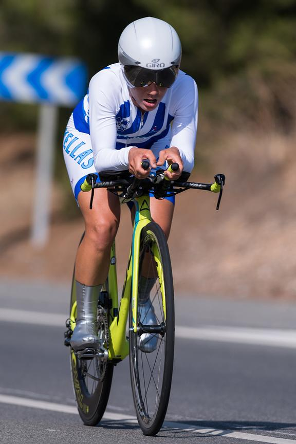 Women's Individual time trial Final / MILAKI Argyro (GRE)