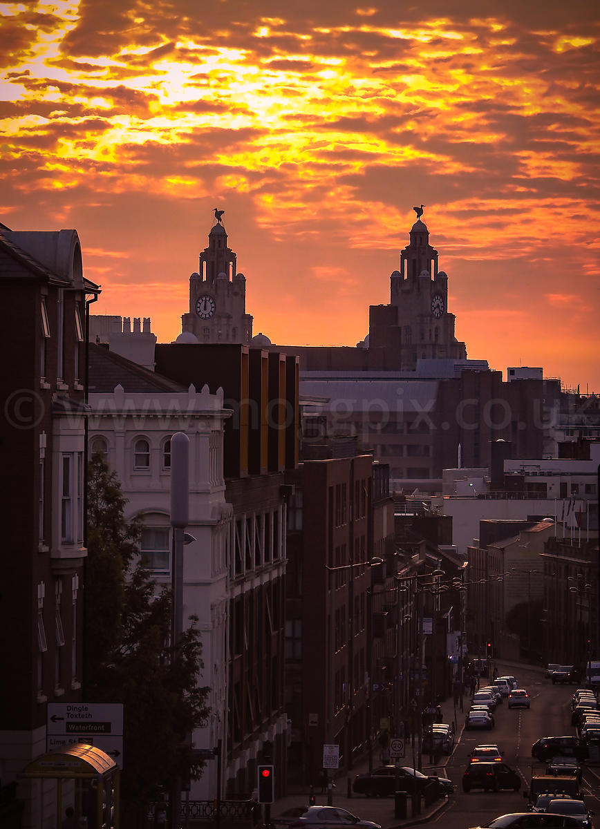 A Liverpool Sunset