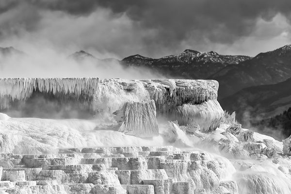 Travertine Terrace, Mammoth Hot Springs