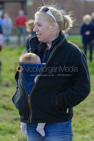 Julia Dungworth - Belvoir supporters at the meet