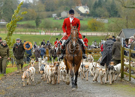 Chris Edwards at the meet at Oak House