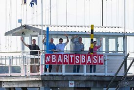 Parkstone Yacht Club starting platform, Bart's Bash 2018, 20180916076