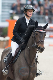 Paris, France, 17.3.2018, Sport, Reitsport, Saut Hermes - PRIX GL Events Bild zeigt Laura RENWICK(GBR) riding MHS Sanfrancisc...