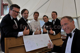 Swing4you Band at Festival da Jazz- Live at Confiserie Hauser in Saint St. Moritz