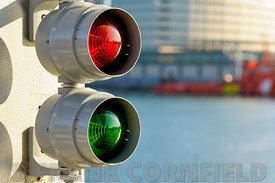 Traffic signal for boats.