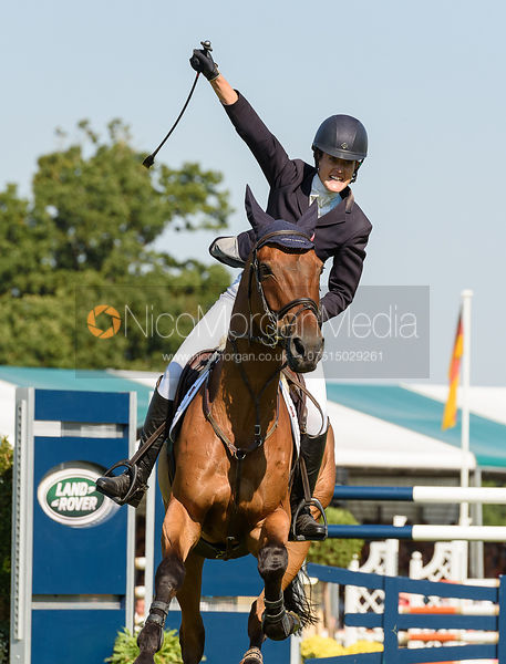 Willa Newton and Chance Remark at Burghley