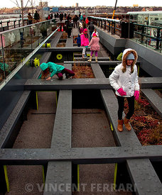 Children Playing on the High Line