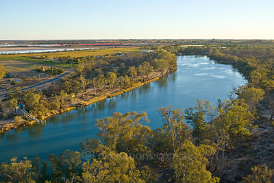 River Murray near Mildura, Australia.