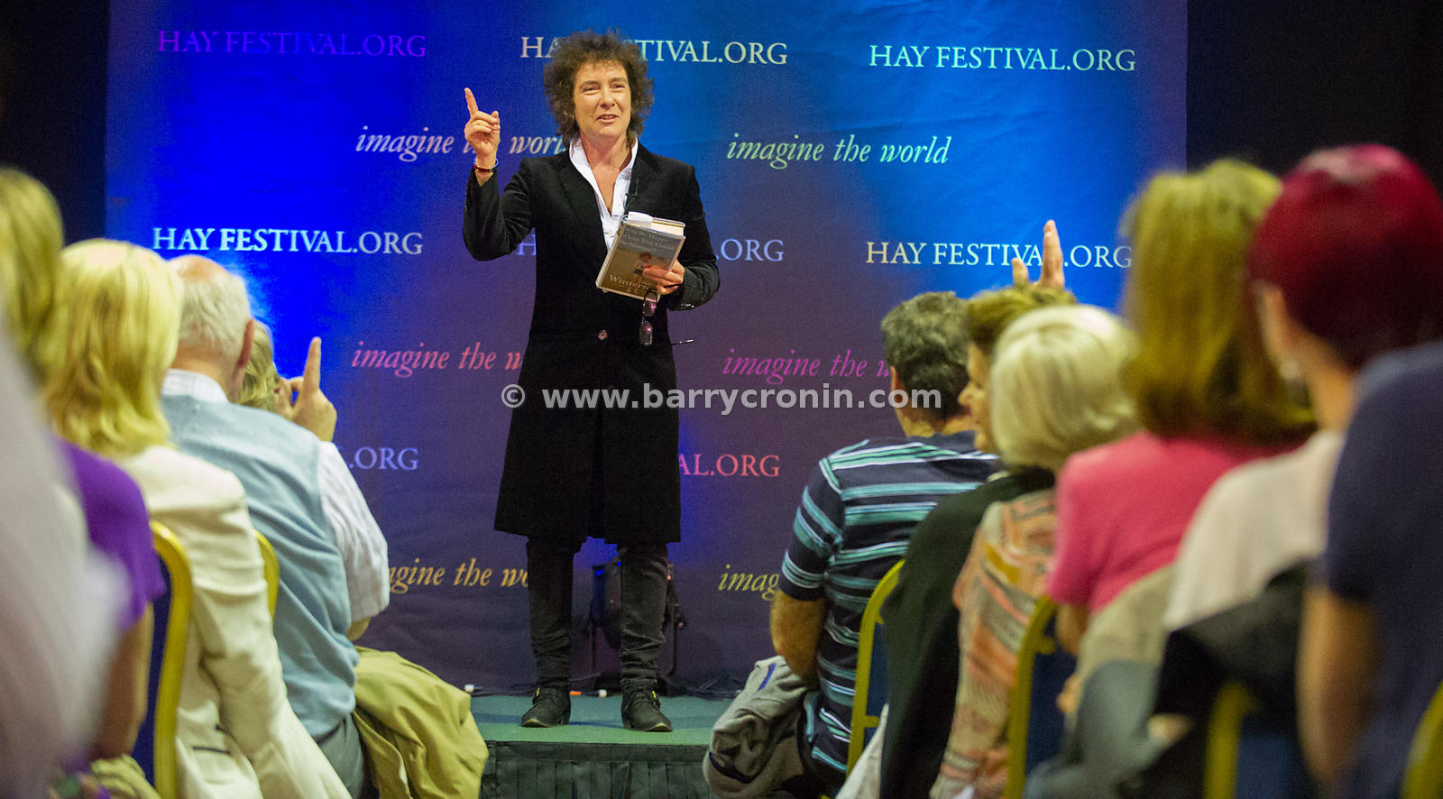 30th June, 2013. Kells Hay Festival, Kells, County Meath.Pictured at the above is author Jeanette Winterson, the author of Or...