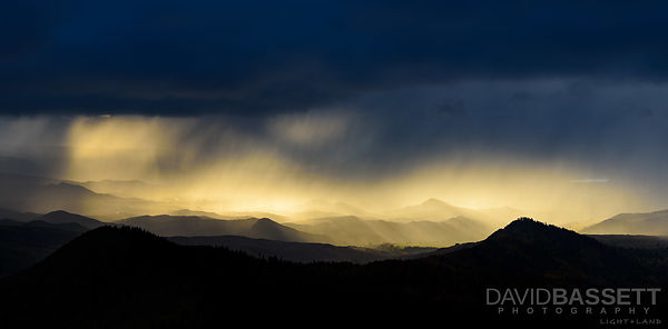 Sunset Snow Squall | San Juan Mountains, CO