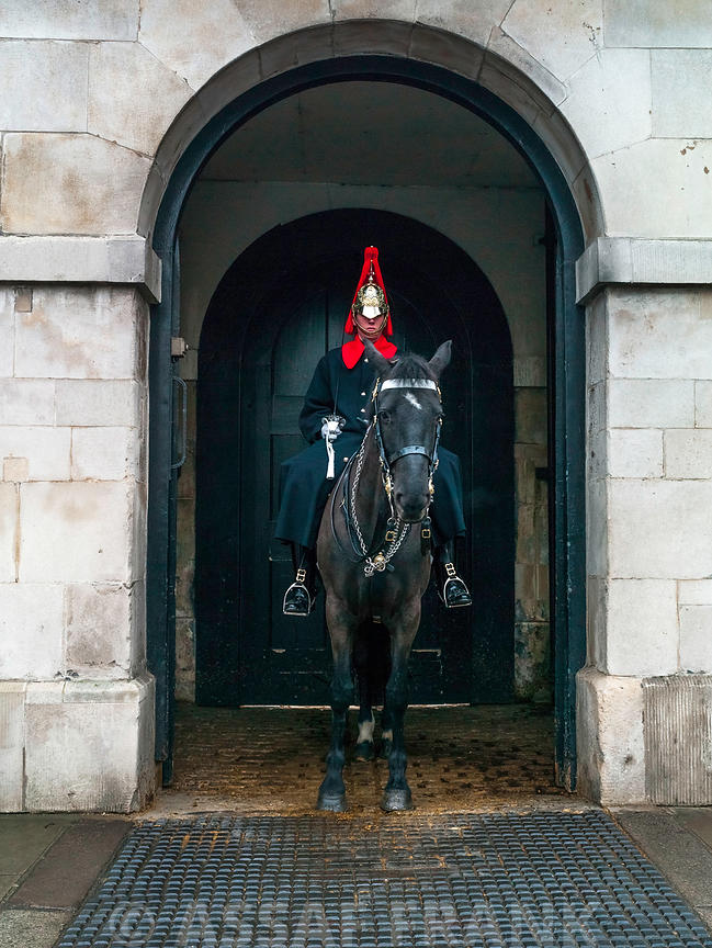 Queen's guard in London, UK
