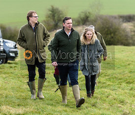 At the meet. The Cottesmore Hunt at Newbold Farm 16/2
