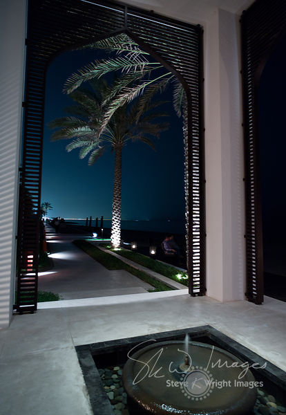 The Chedi at Night - Muscat, Oman