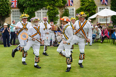 Rutland Morris Men. The Ashwell Village Fete, 30 July 2017