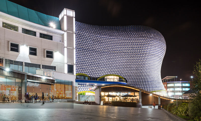Selfridges in St. Martins Square, at The Bullring Shopping Centre, Birmingham, England, UK