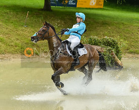 Izzy Taylor and SPRINGPOWER, Equitrek Bramham Horse Trials 2018
