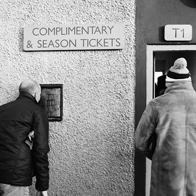 Albion Rovers..Indodrill Stadium, Alloa..6.1.18.Alloa Athletic 3-1 Albion Rovers..Picture Copyright:.Iain McLean,.79 Earlspar...