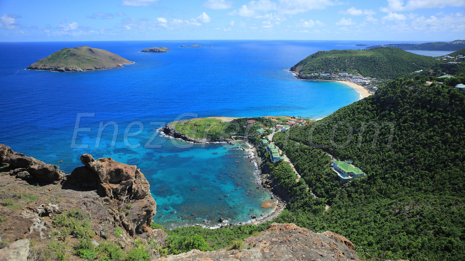 Saint-Barthélemy sea view