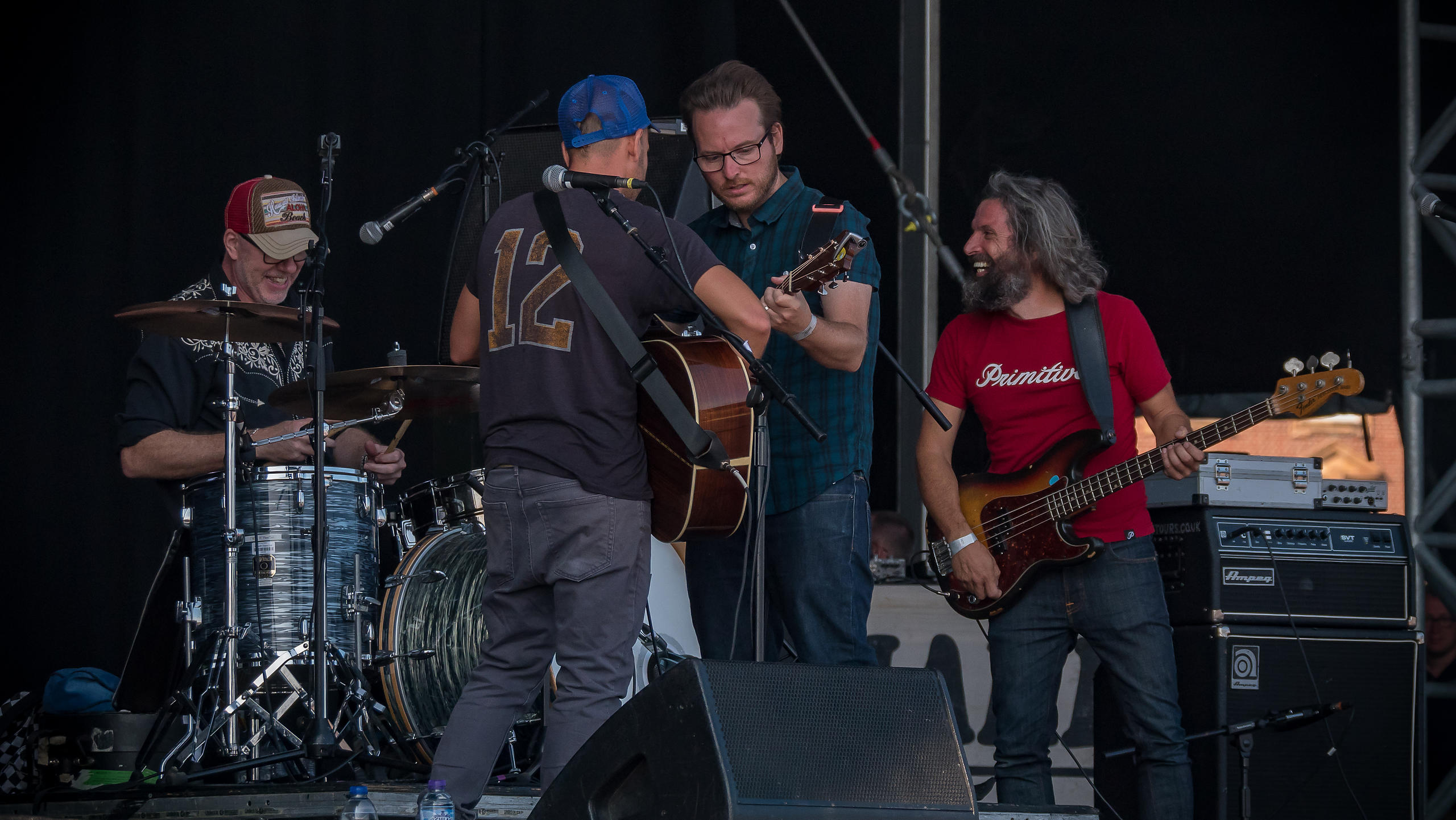Turin Brakes Delight the Audience on Sunday Afternoon on the Main Stage at Victorious Festival 2017