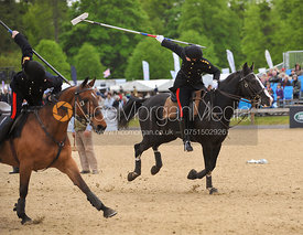 Tent pegging at Royal Windsor Horse Show