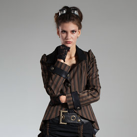 Polina Steampunk Victorian stock photos