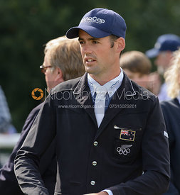 Jock Paget - show jumping phase, Burghley Horse Trials 2014.