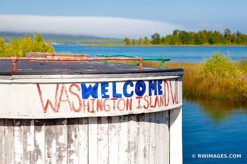 WELCOME TO WASHINGTON ISLAND DOOR COUNTY WISCONSIN