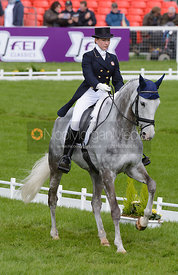 Tiana Coudray and RINGWOOD MAGISTER - Dressage phase, Mitsubishi Motors Badminton Horse Trials 2014