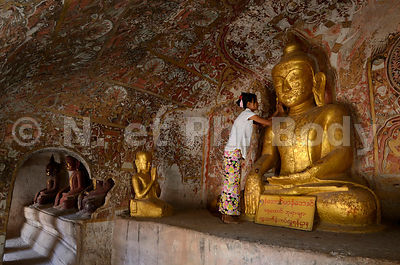 Po Win Daung Caves - Monywa