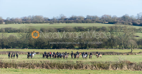 The Quorn Hunt at Swan Lodge 16/12