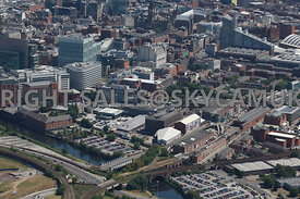 Manchester view of the old Granada Studios Castlefield