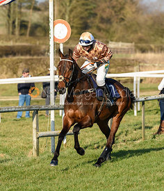 Gina Andrews (GENERAL ARROW). Race 7 - Open Maiden. The Cottesmore at Garthorpe