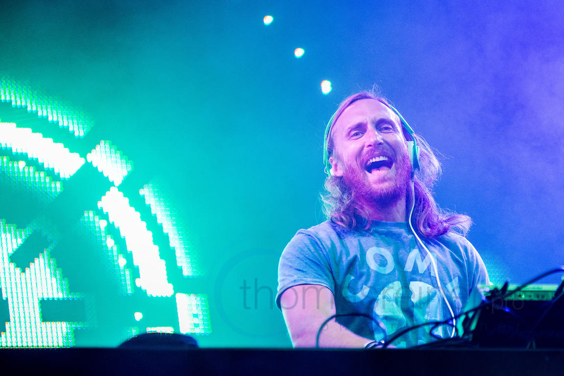 DAVID GUETTA at Mallorca Rocks