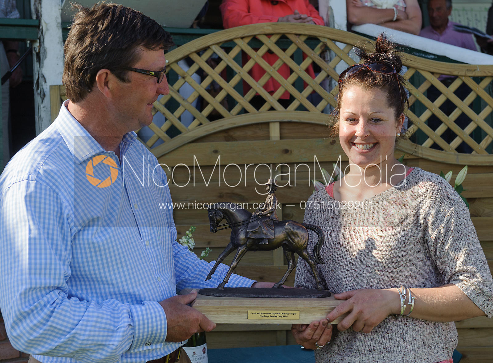Leading Lady Jockey Claire Hart - Meynell and South Staffs at Garthorpe, 2nd June 2013