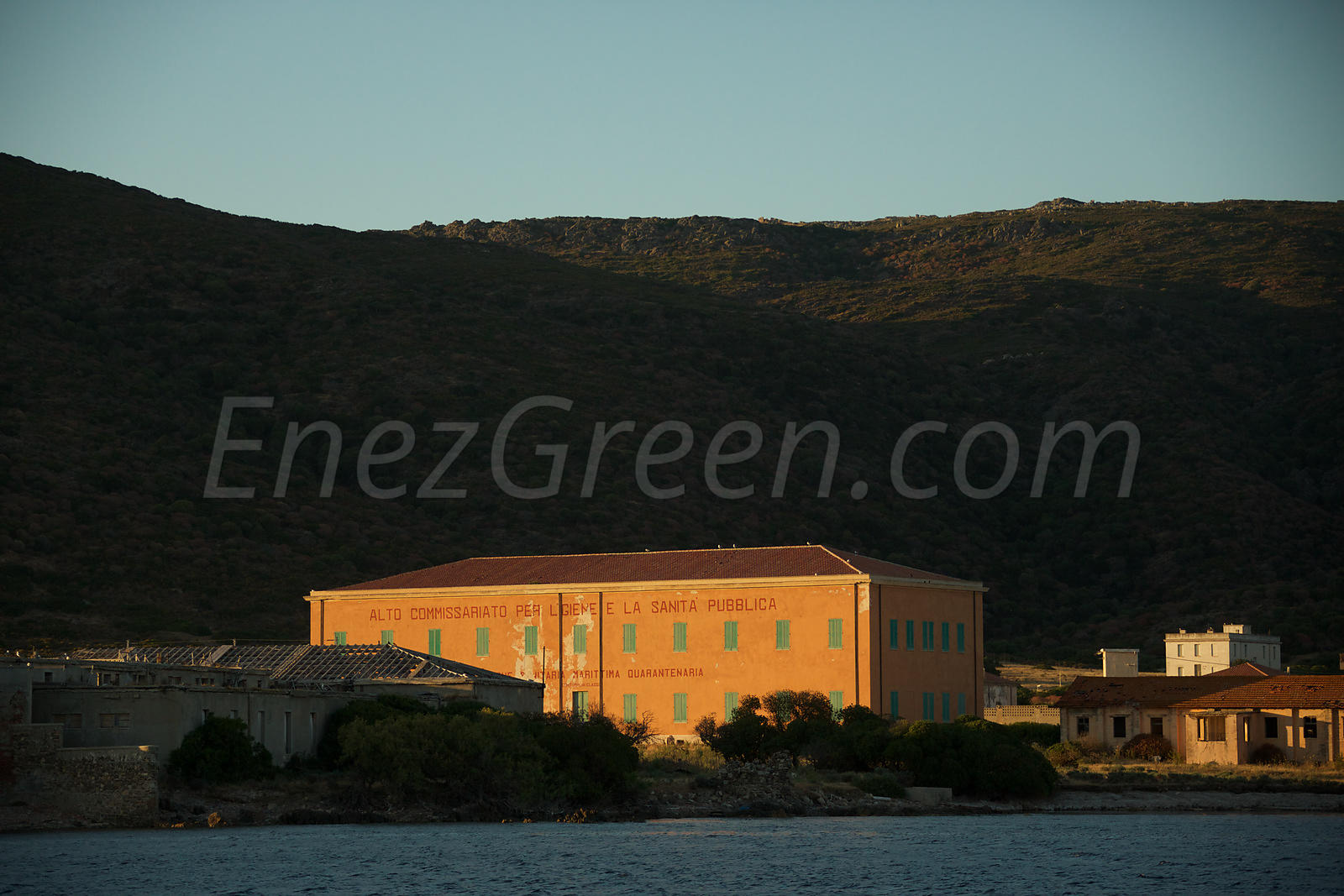 Old quarantine building Asinara