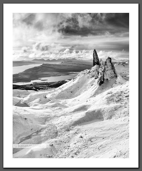 The Old Man of Storr, Skye - BP2304BW