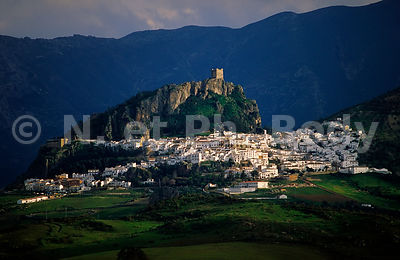 ESPAGNE, ANDALOUSIE, VILLAGES BLANCS//SPAIN, ANDALUSIA