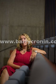 21st June, 2013. Playwright, writer and actor Deirdre Kinahan from Wilkinstown, Navan photographed in the Solstice Arts Centr...
